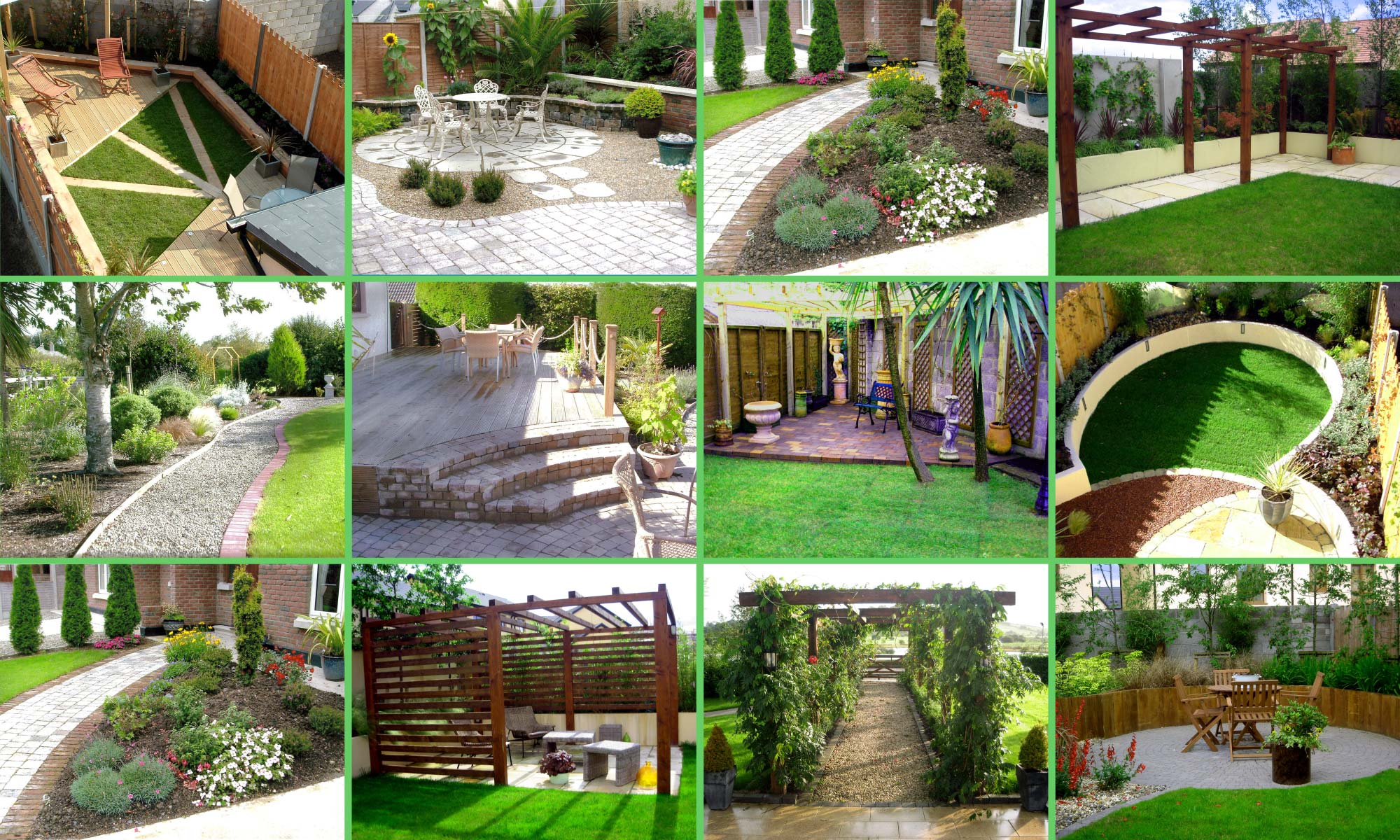 Landscaping services o 39 brien landscaping for Home and garden maintenance services